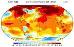 Δεν υπάρχει αλλαγή του κλίματος στον πλανήτη !