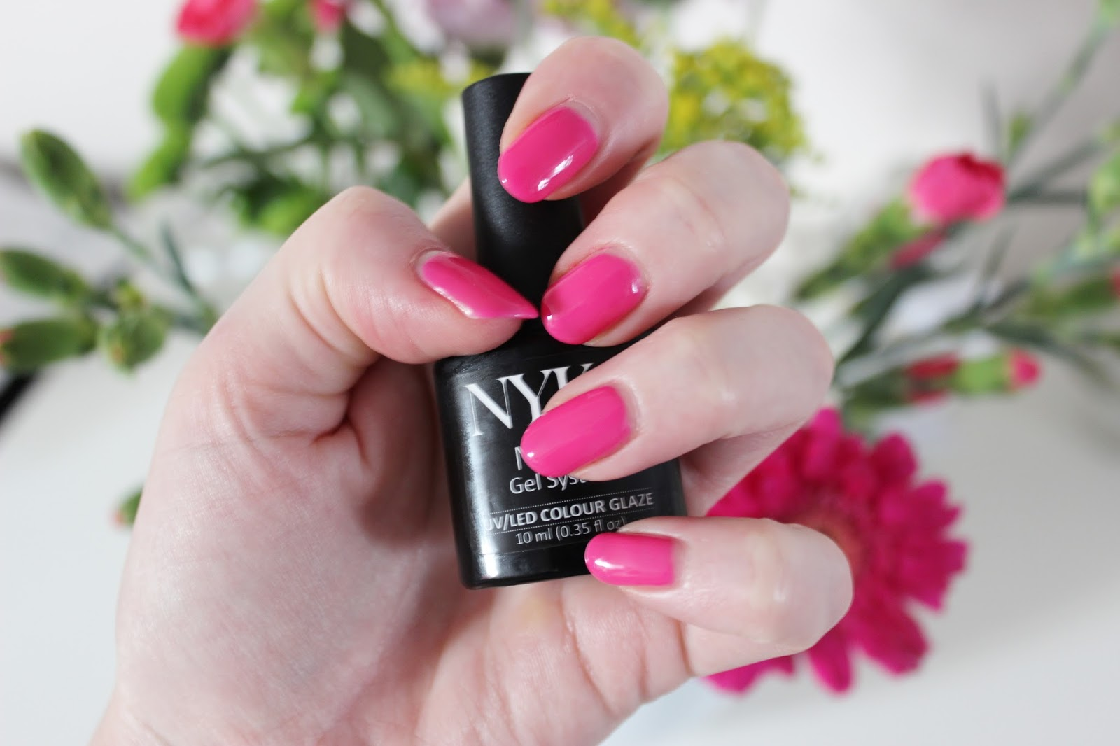 NYK1 Secrets gel nail starter kit finished results