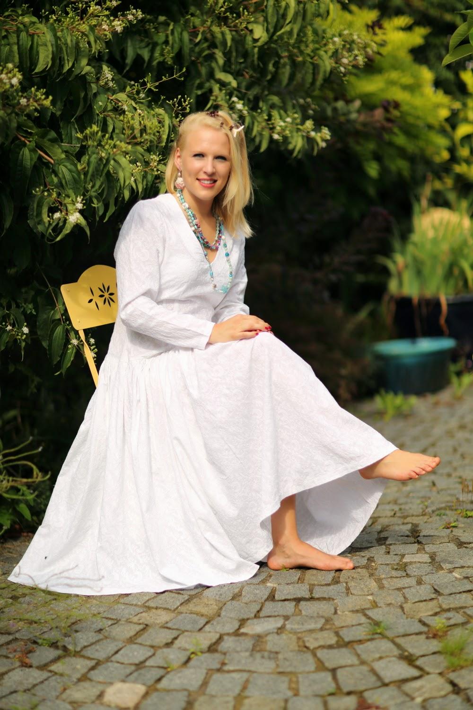 rosentulpensamtundseide: Hochzeitskleid oder Sommerkleid aus ...