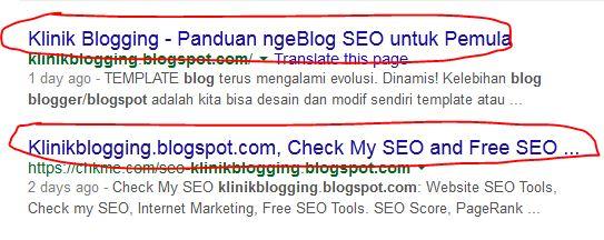Warna Link Google