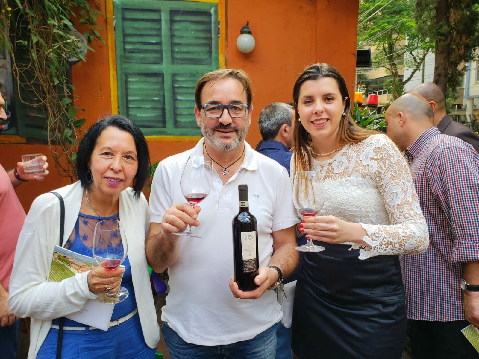 Momento Tenuta Rocca com o proprietário Gianni Ciravegna por Épice Importação