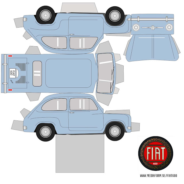 PaperCraft de Autos (Simples) - Taringa!