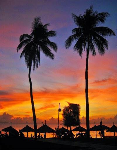 Bình minh trên biển Nha Trang