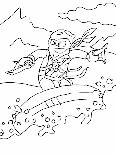 Lego Ninjago Coloring Page