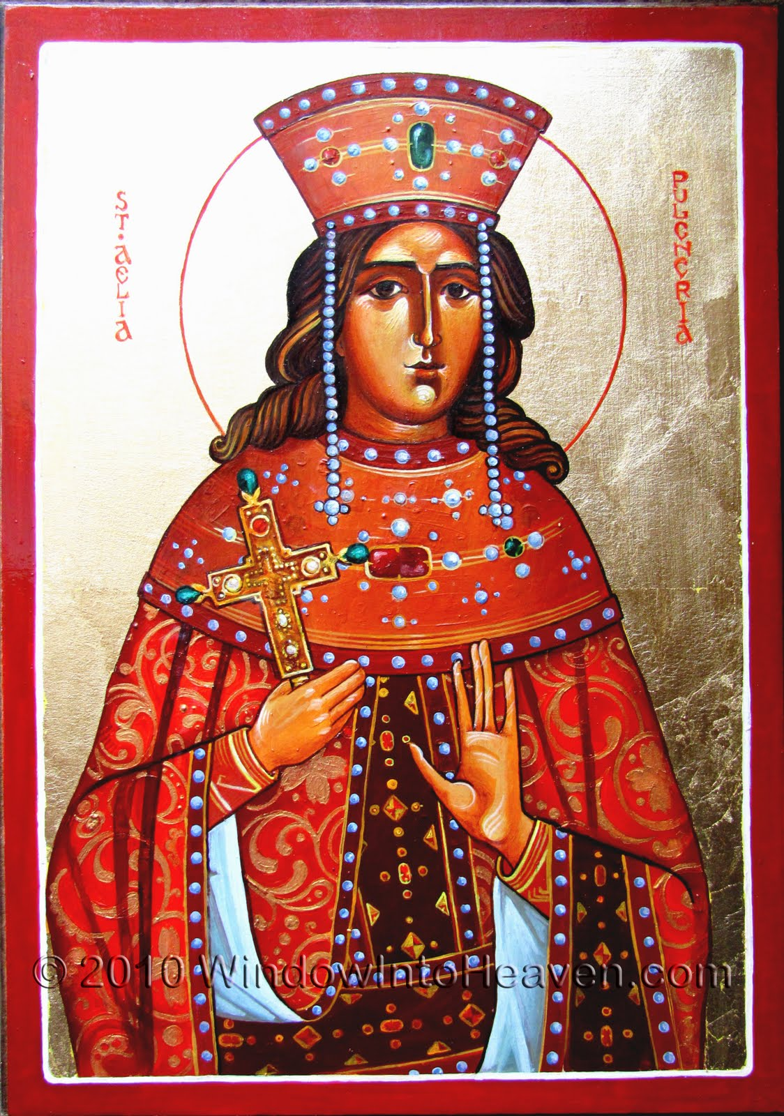 SAINT PULCHERIA, HOLY ROMAN EMPRESS