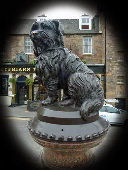 Greyfriars Bobby, Edinburgh, visit Edinburgh, Auld Jock