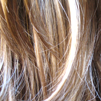 blonde hair with brown highlights. londe hair highlights on