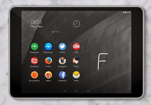 Nokia N1. Eight-inch Android tablet with an Intel Atom processor on board, finally left the Chinese