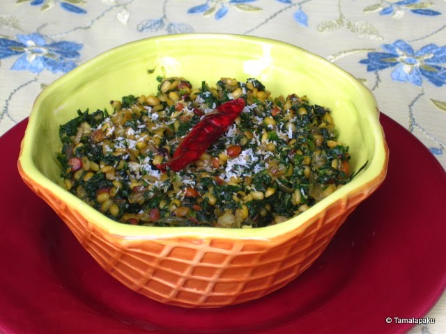 Palak Moong Dal Curry