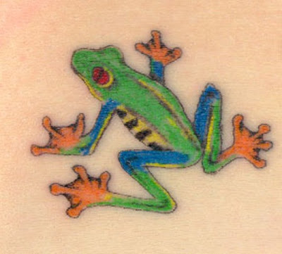Tribal Tattoo Design Frog Picture3