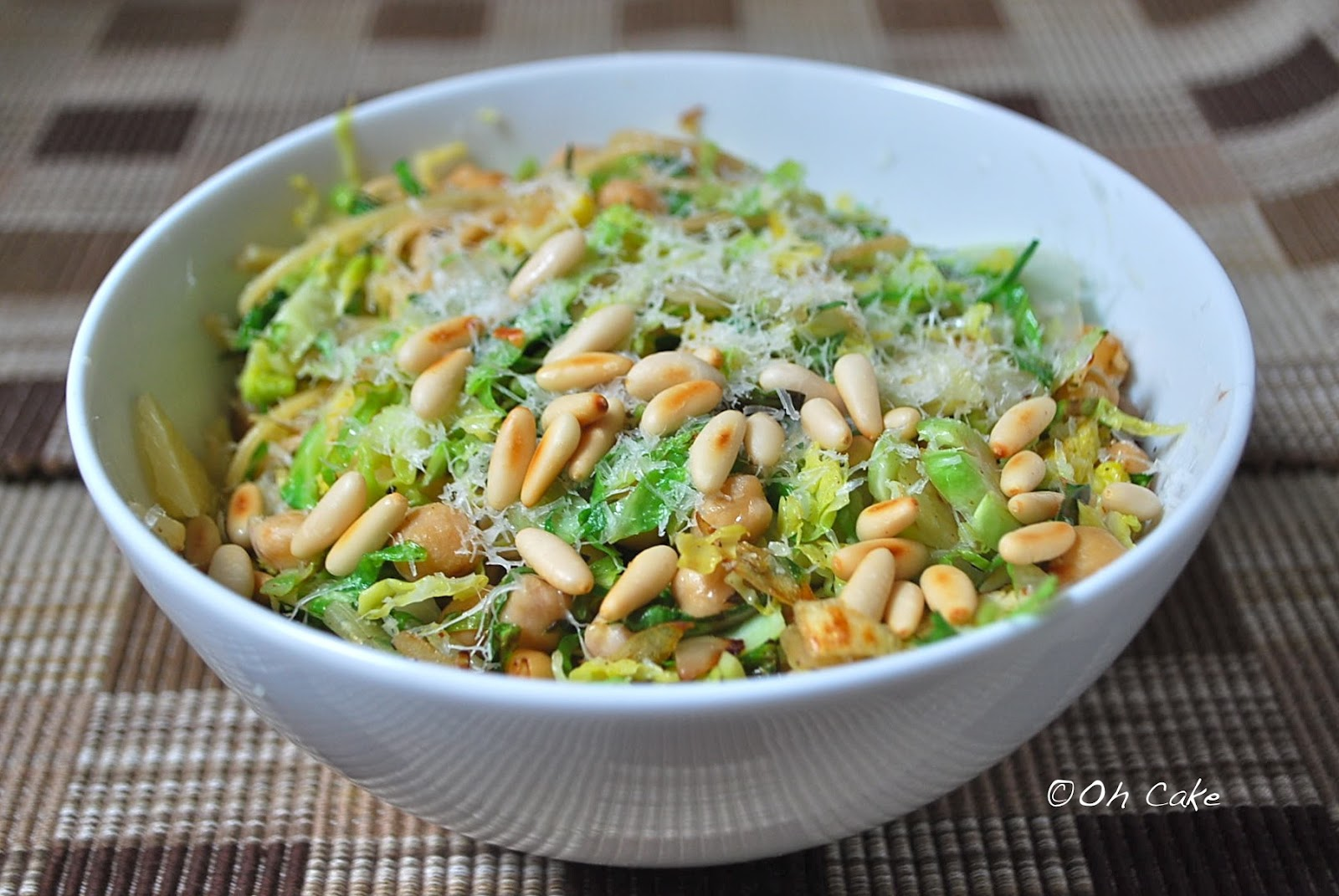 Brussel Sprouts With Lemon Pasta Recipe — Dishmaps