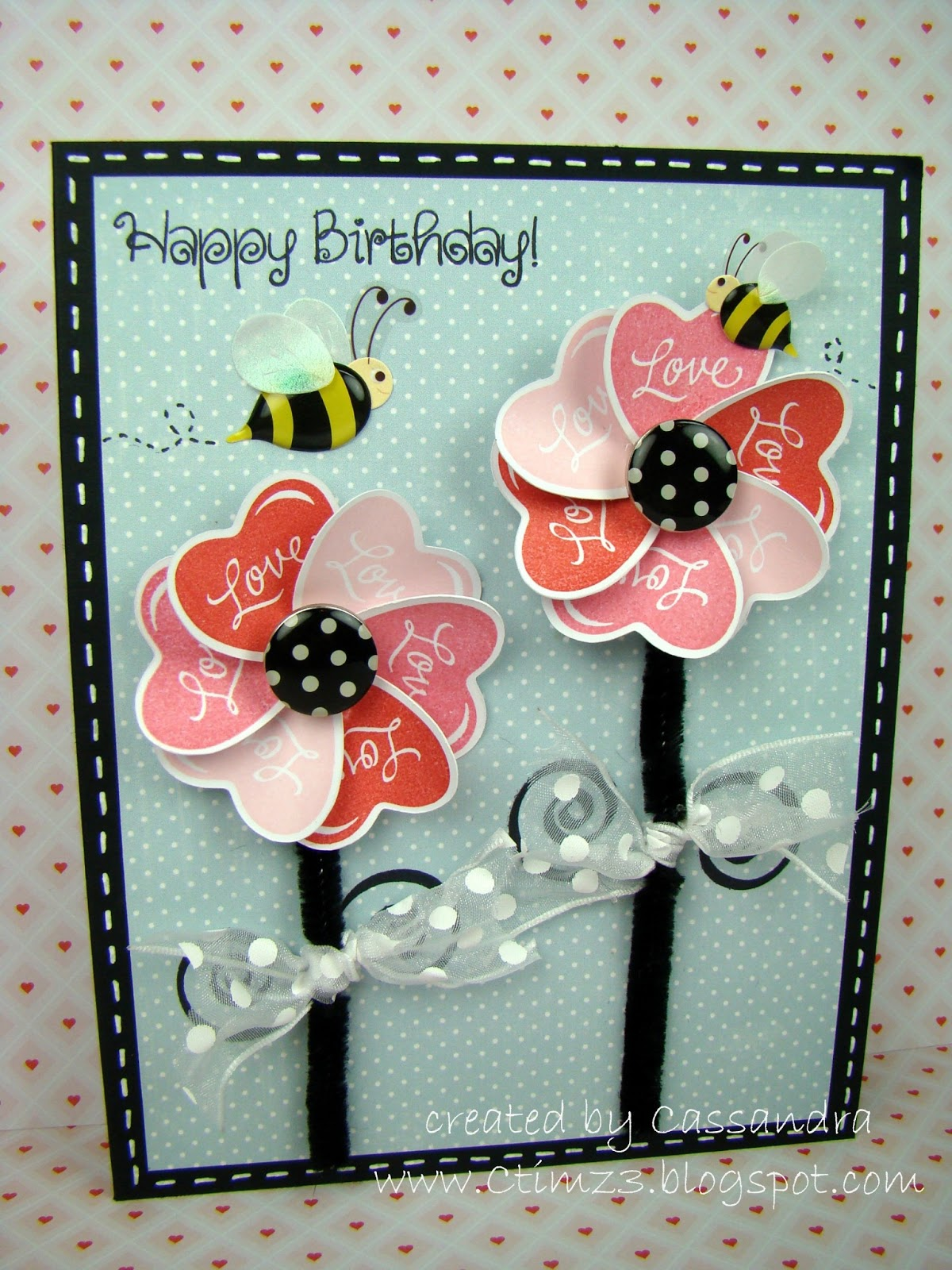 Peachy Keen Stamps Cassandra Cauble Lovely Flowers