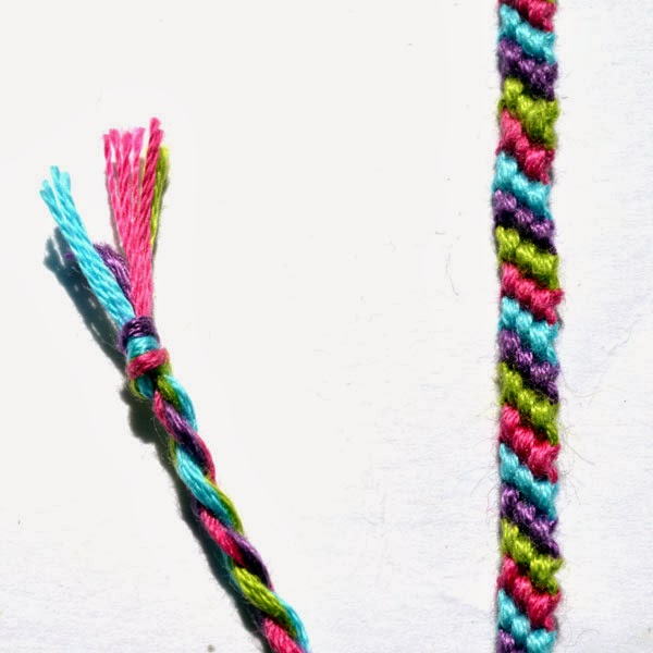 friendship bracelet candy striper