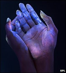 bacteria hand washing