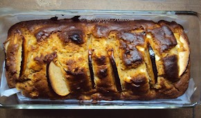 apple cake..a whole wheat, whole fruit, spiced cake ...
