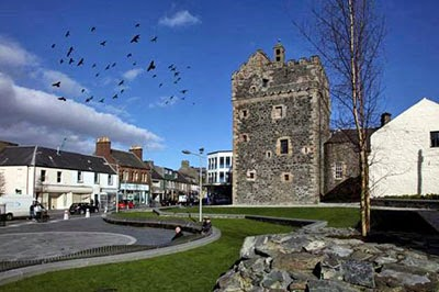 Strictly for the birds - Castle Square, Stranraer