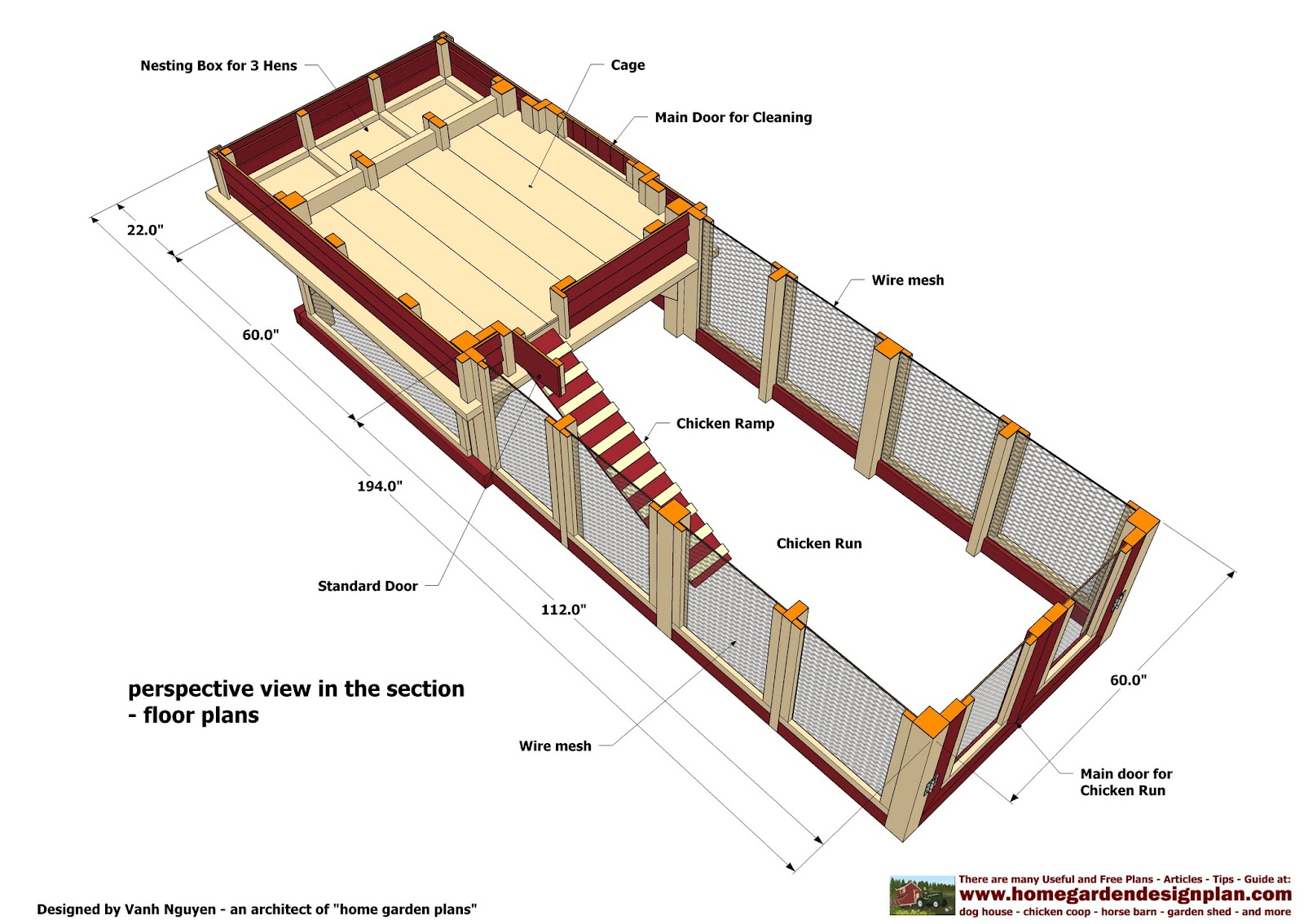 beautiful free chicken house plans pictures - 3d house designs