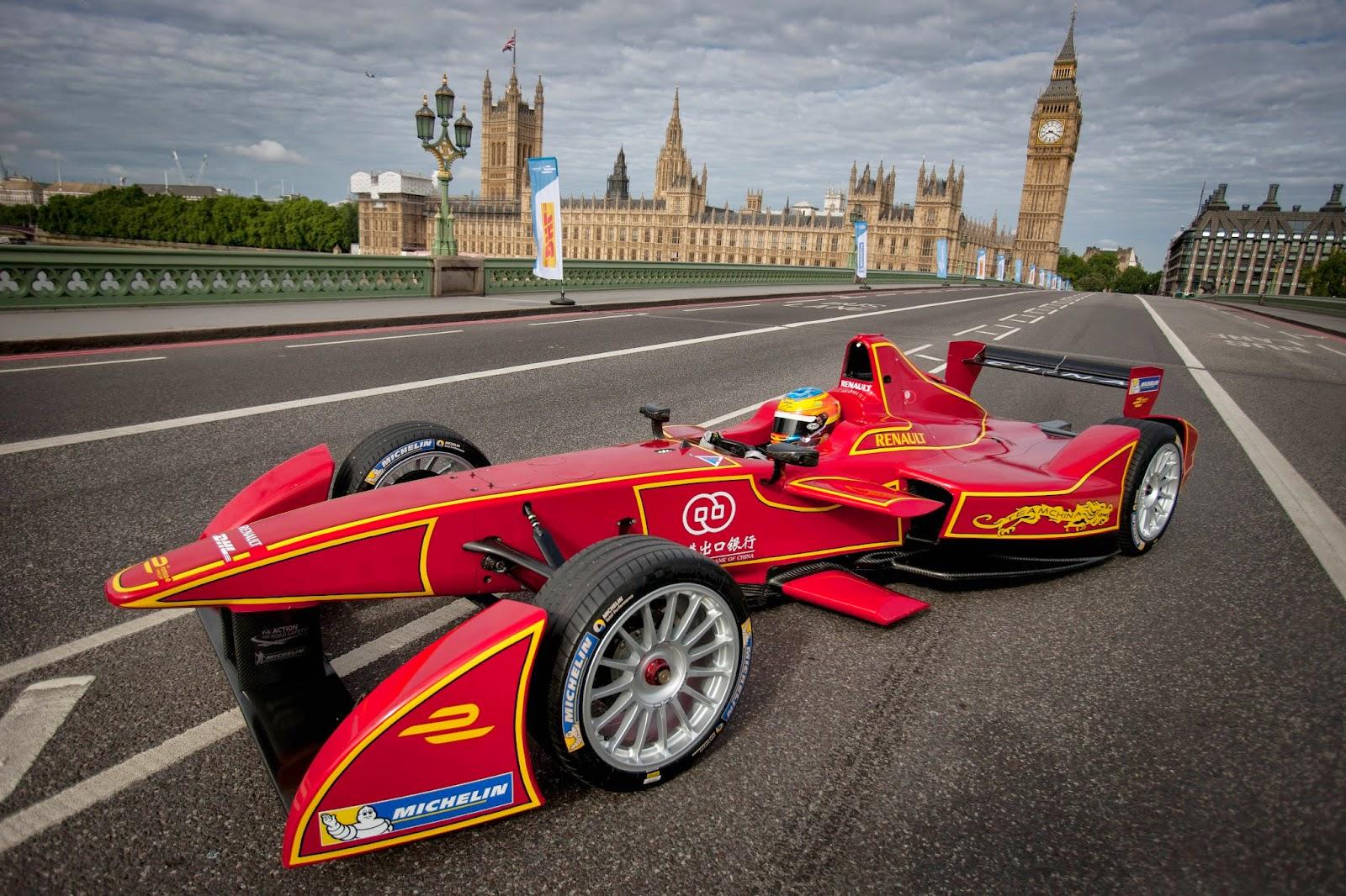 Formula E, arranca en China