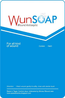 WUNSOAP (Wound Antiseptic Soap)