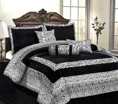 Luxury Black and White Bedrooms Pictures Ideas
