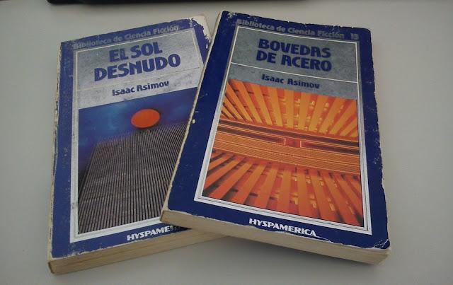Bóvedas de acero y El sol desnudo, Biblioteca de Ciencia Ficción