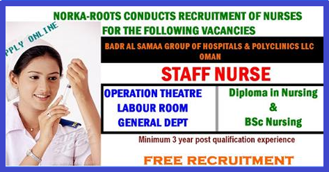 NORKA-ROOTS CONDUCTS RECRUITMENT OF NURSES FOR THE ...