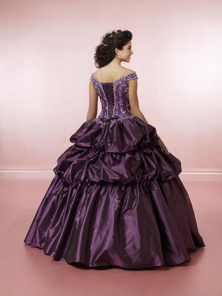 Purple Wedding Dresses For  : Purple wedding dresses