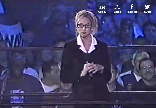 Cheating Wrestling Valets: 4. Stacy Keibler (Sean Stasiak ...