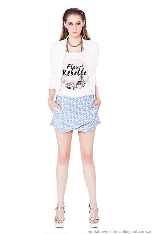 Moda primavera verano 2015 ropa de mujer.