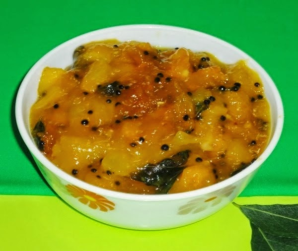 mango humman in a bowl