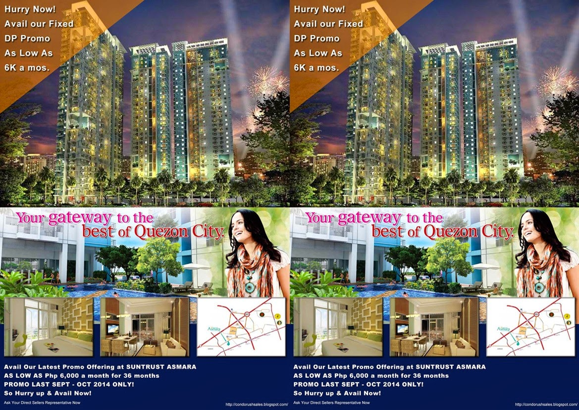Asmara Condominium Promo Sales Offering
