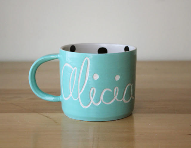 Personalized mugs are always a great gift idea. A Tea lover would love to have this one in their collection.