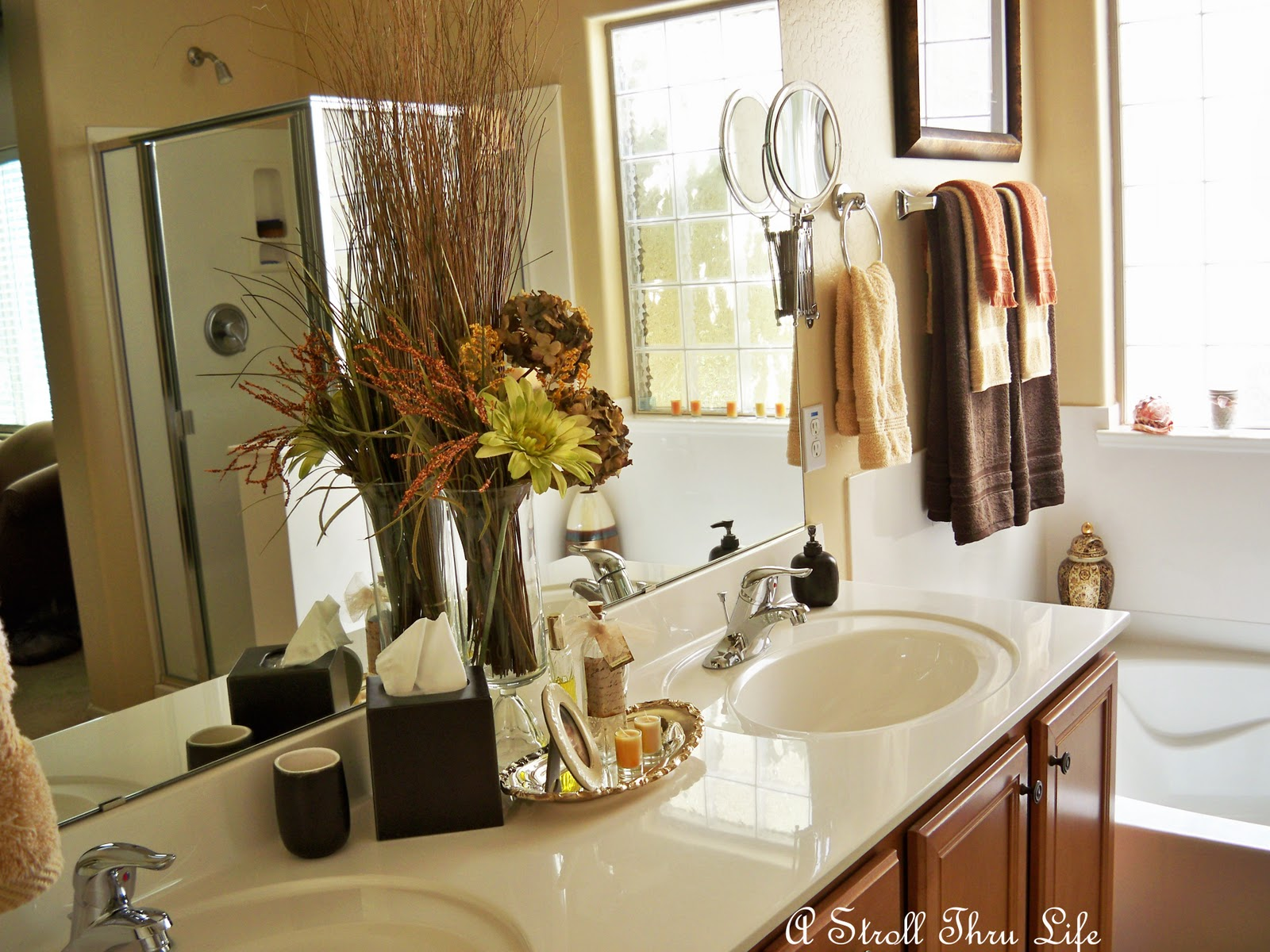 Fall Bathroom: A Stroll Thru Life: Fall In The Bathroom