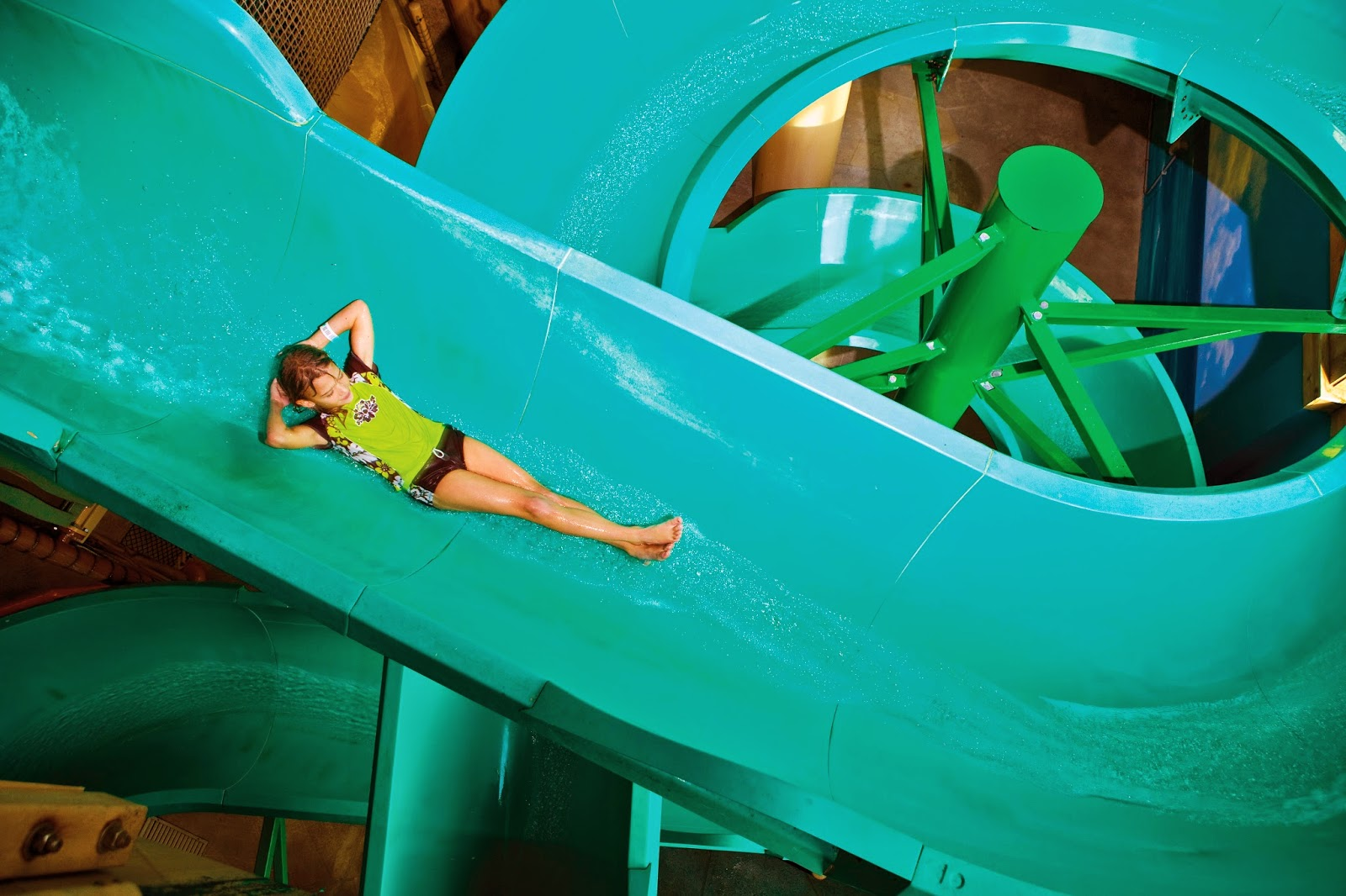 Water slide Castaway Bay