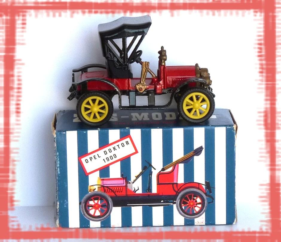Garage de poche Jipé: OPEL DOKTOR 1909 Ziss-Modell