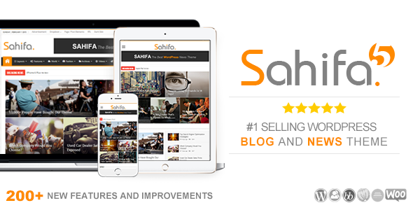Free Sahifa V5.3.0 Responsive Wordpress News, Magazine, Blog Theme