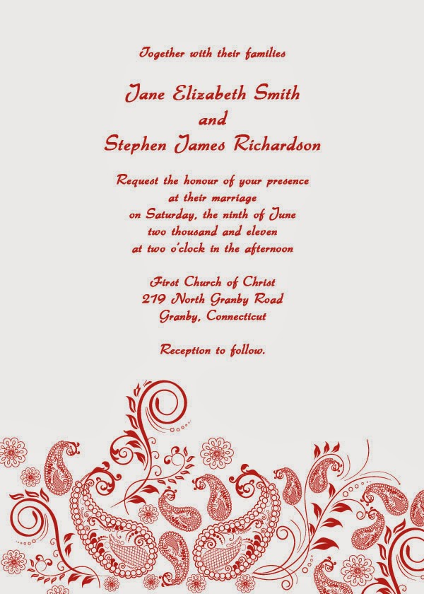 cheap wedding invitations free wedding invitation templates