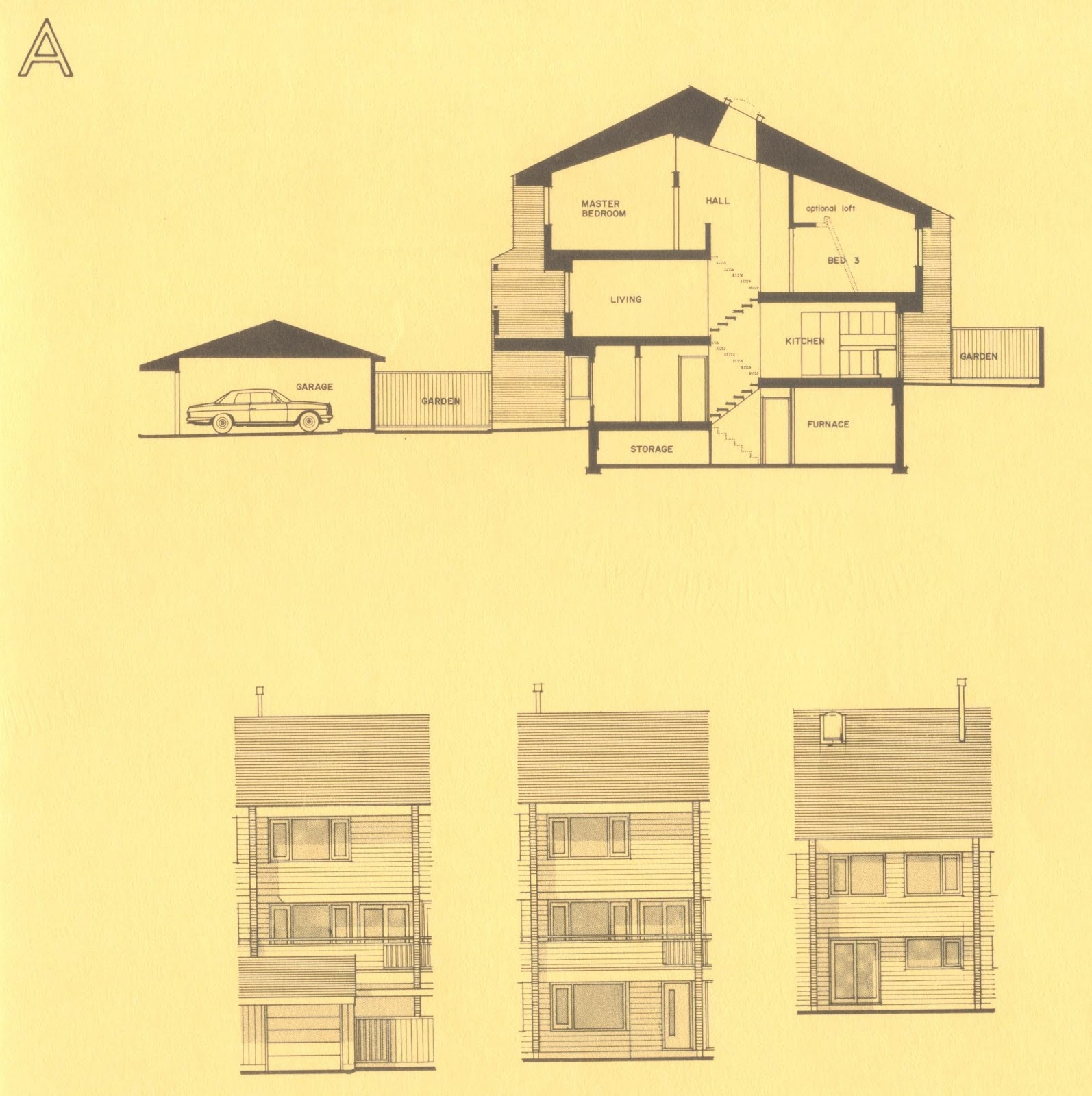 Mid century modern and 1970s era ottawa the modern for Modern house design ottawa