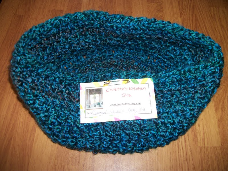 HOMESPUN YARN CROCHET PATTERN
