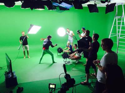 Kung Fury detrás de las cámaras