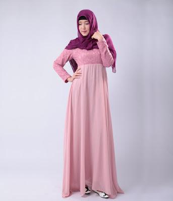 Model Baju Muslim Sifon