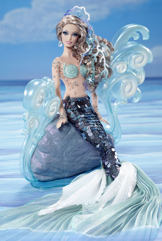 Collecting Fashion Dolls By Terri Gold The Mermaid Barbie Doll