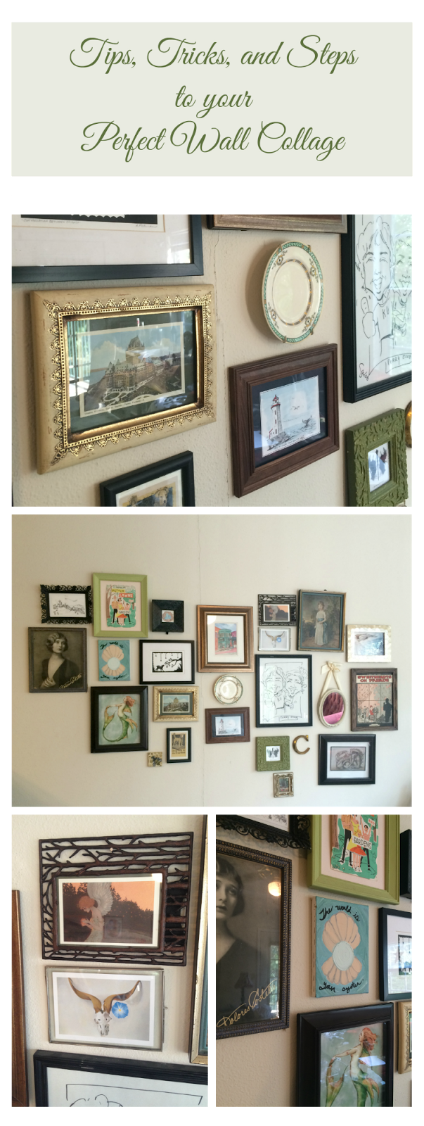 Wall Collage Living Room My Favorite Things Diy Wall Collage On A Budget Labor Day