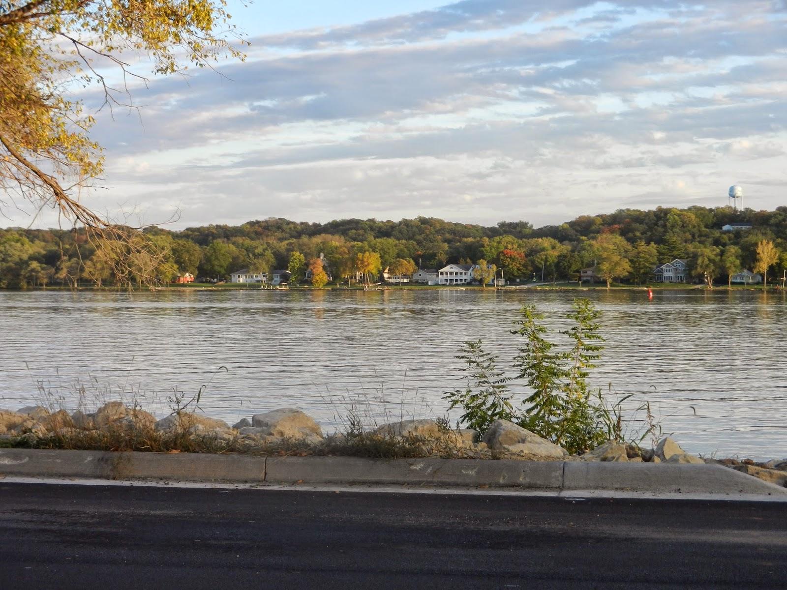 mississippi river leclaire illinois