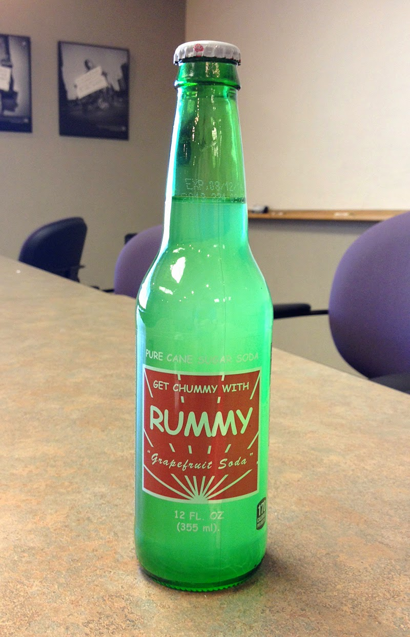 Rummy Grapefruit Soda