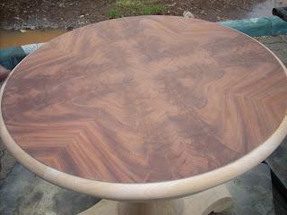 glue size for crotch mahogany veneer