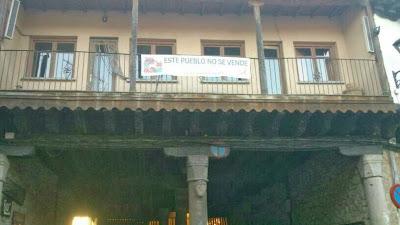 San Martín del Castañar, este pueblo no se vende, contra la reforma local