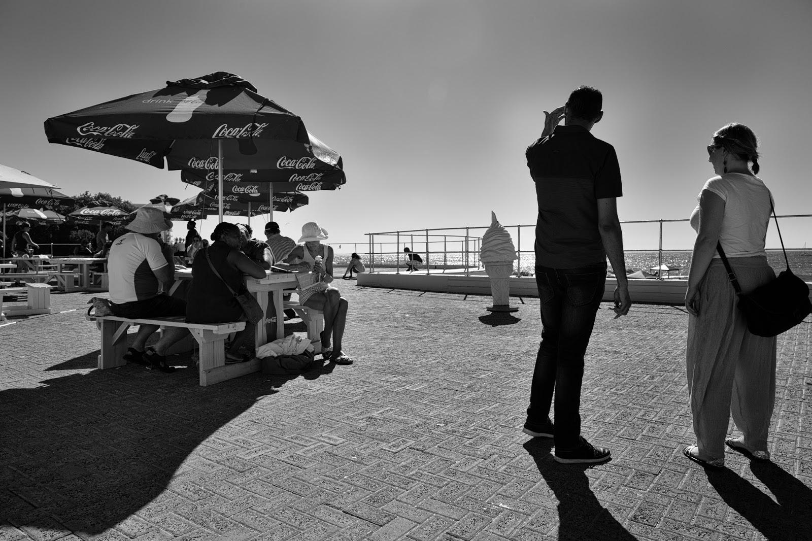 The icecream on the sepoint promenade