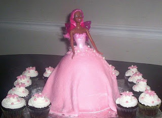 Barbie Birthday Cake Toppers