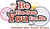 be the best, best, be the best you can be